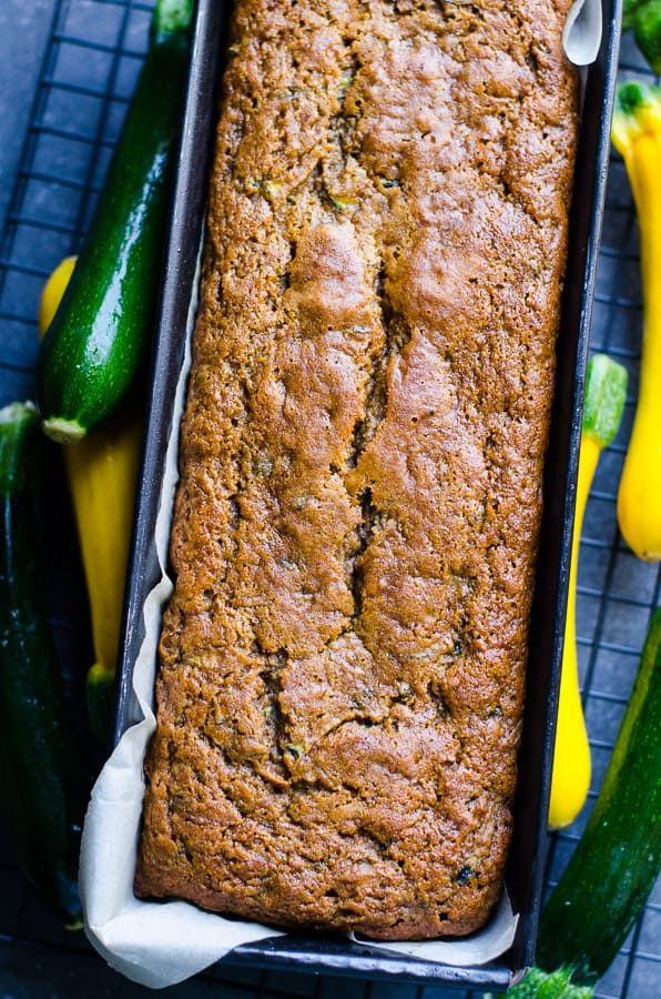 Healthy Zucchini Bread Recipe Applesauce  Healthy Zucchini Bread with applesauce whole wheat or
