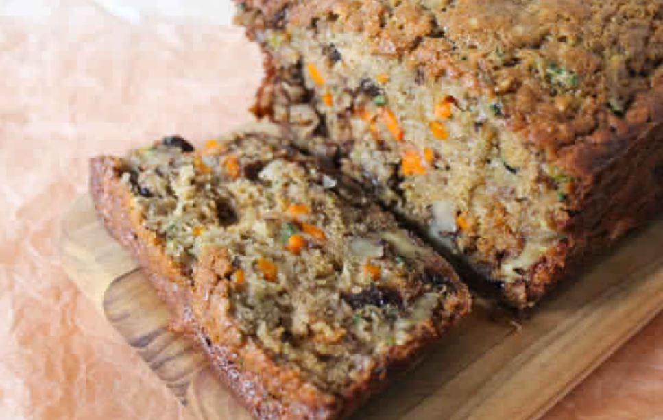 Healthy Zucchini Bread Recipe Applesauce  Dark Chocolate Zucchini Bread Points Recipes