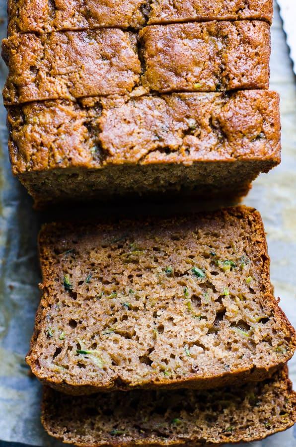 Healthy Zucchini Bread  Healthy Zucchini Bread iFOODreal Healthy Family Recipes