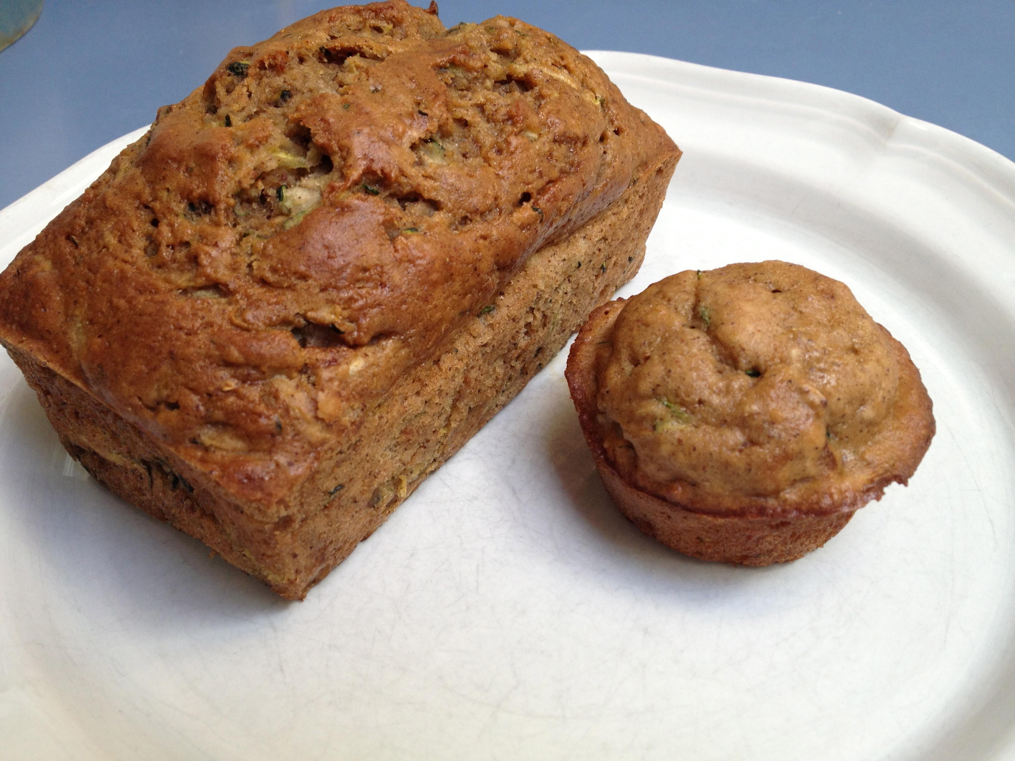 Healthy Zucchini Bread  Zucchini Bread healthy style – Growing Weisser