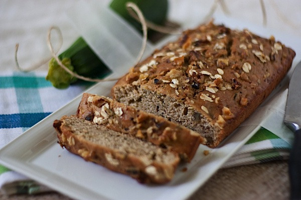 Healthy Zucchini Bread With Applesauce  Healthy Oatlicious Zucchini Bread and Muffins The Chic Life