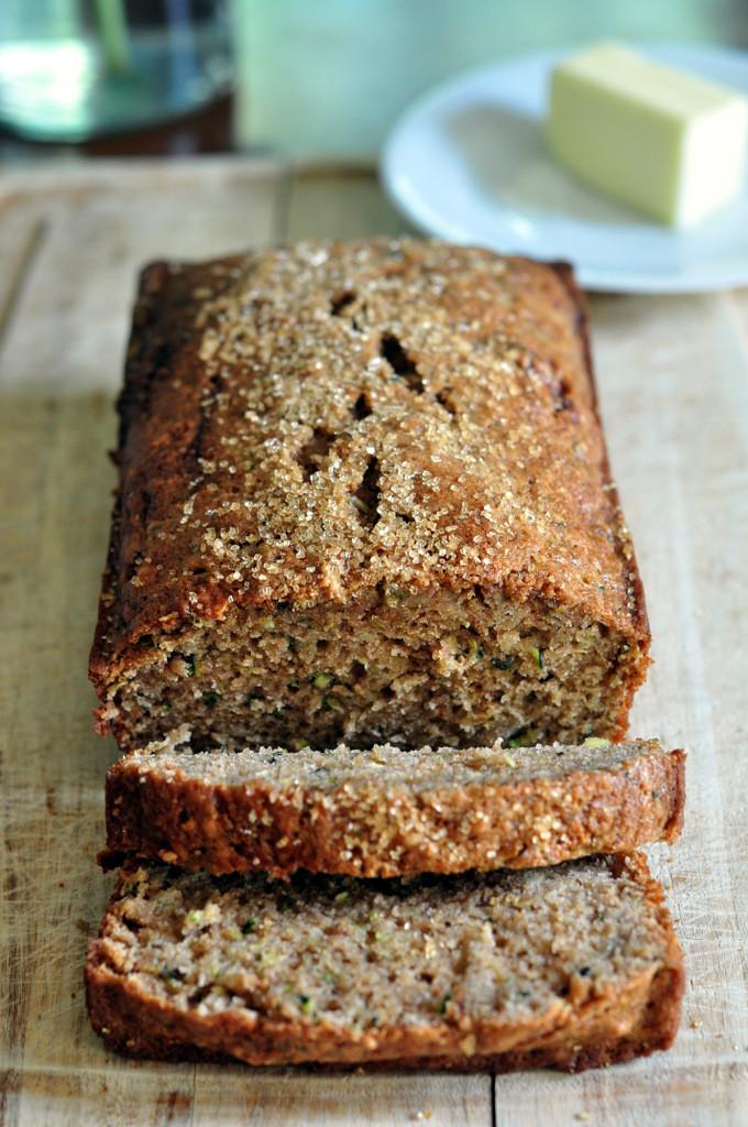 Healthy Zucchini Bread With Applesauce  Healthy Zucchini Bread Recipe