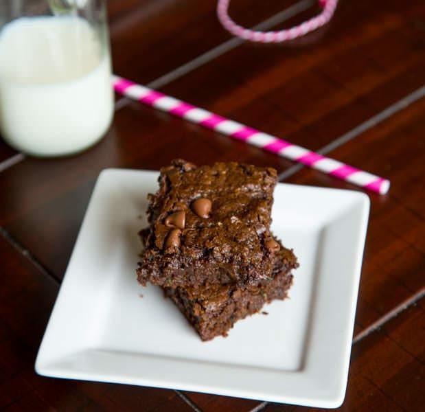 Healthy Zucchini Brownies  Healthy er Zucchini Brownies