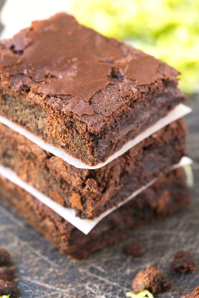 Healthy Zucchini Brownies  Healthy 5 Ingre nt Zucchini Breakfast Brownies