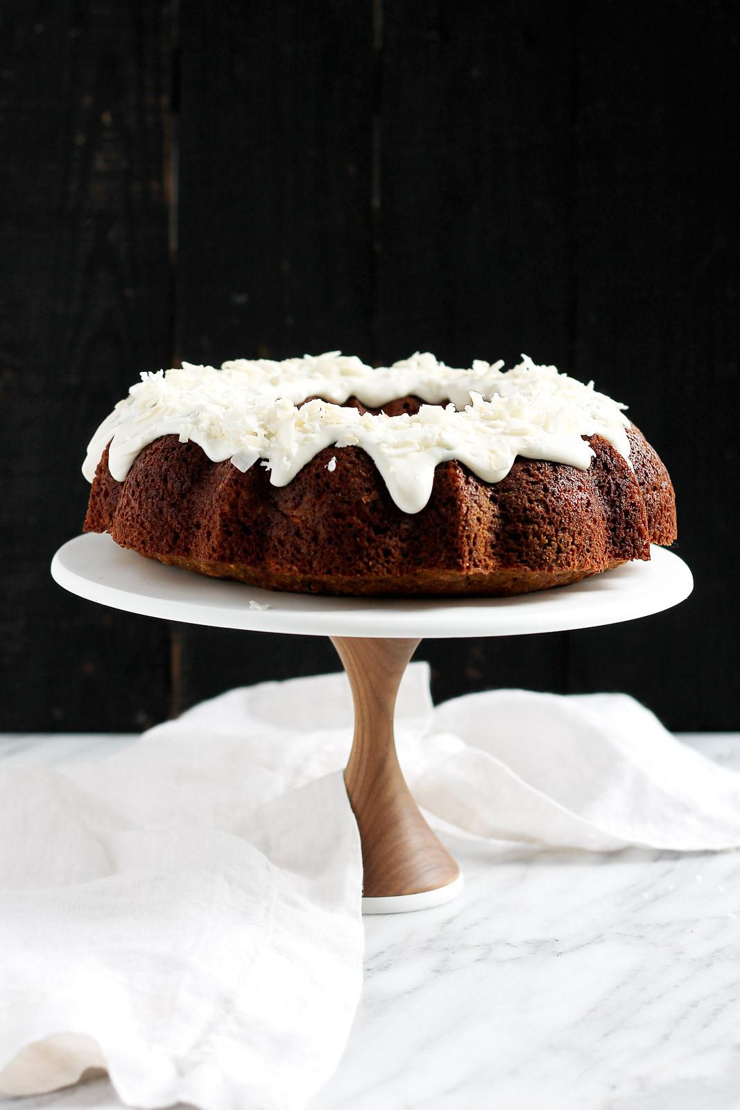 Healthy Zucchini Cake  Orange Carrot Zucchini Cake with Coconut Cream Cheese