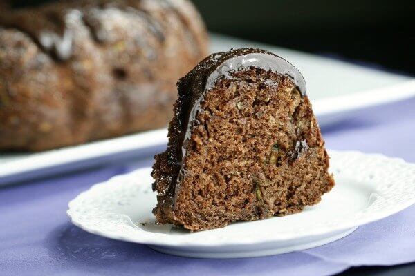Healthy Zucchini Chocolate Cake  Healthy Chocolate Zucchini Cake The Fit Housewife