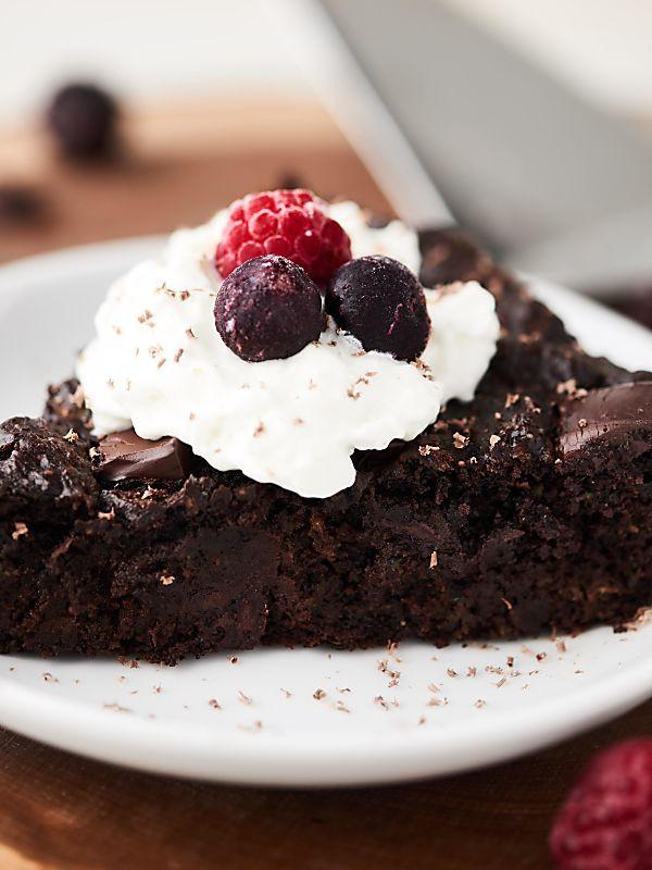 Healthy Zucchini Chocolate Cake  Healthy Zucchini Cake Recipe Vegan Gluten Free Flourless