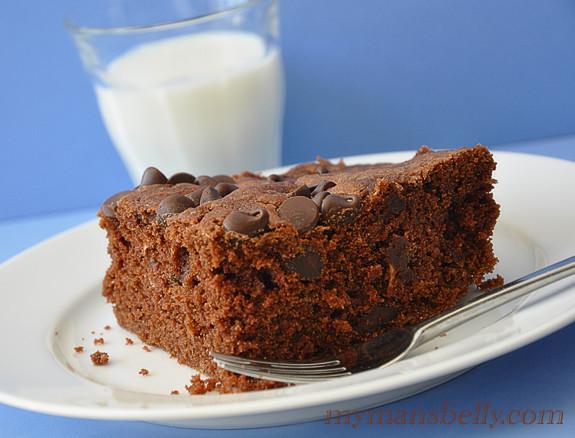 Healthy Zucchini Chocolate Cake  Super Moist Chocolate Zucchini Cake Recipe