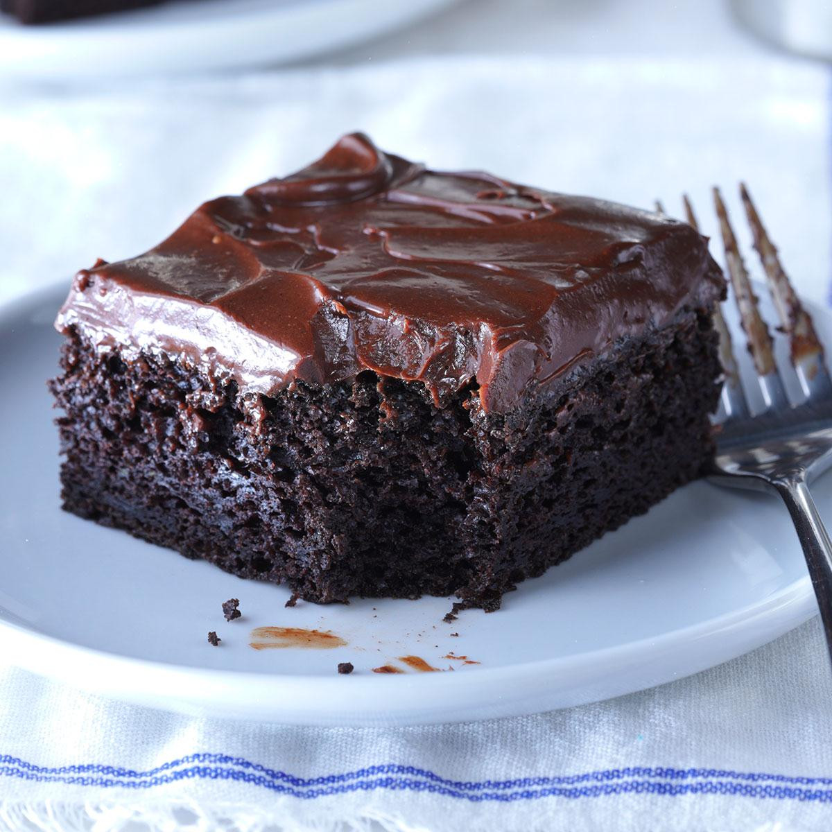 Healthy Zucchini Chocolate Cake  Sue s Chocolate Zucchini Cake Recipe