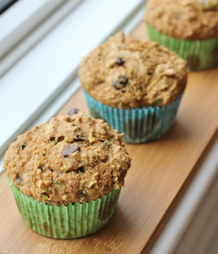 Healthy Zucchini Chocolate Chip Muffins  Healthy Girl s Kitchen Love Loss and Zucchini Muffins