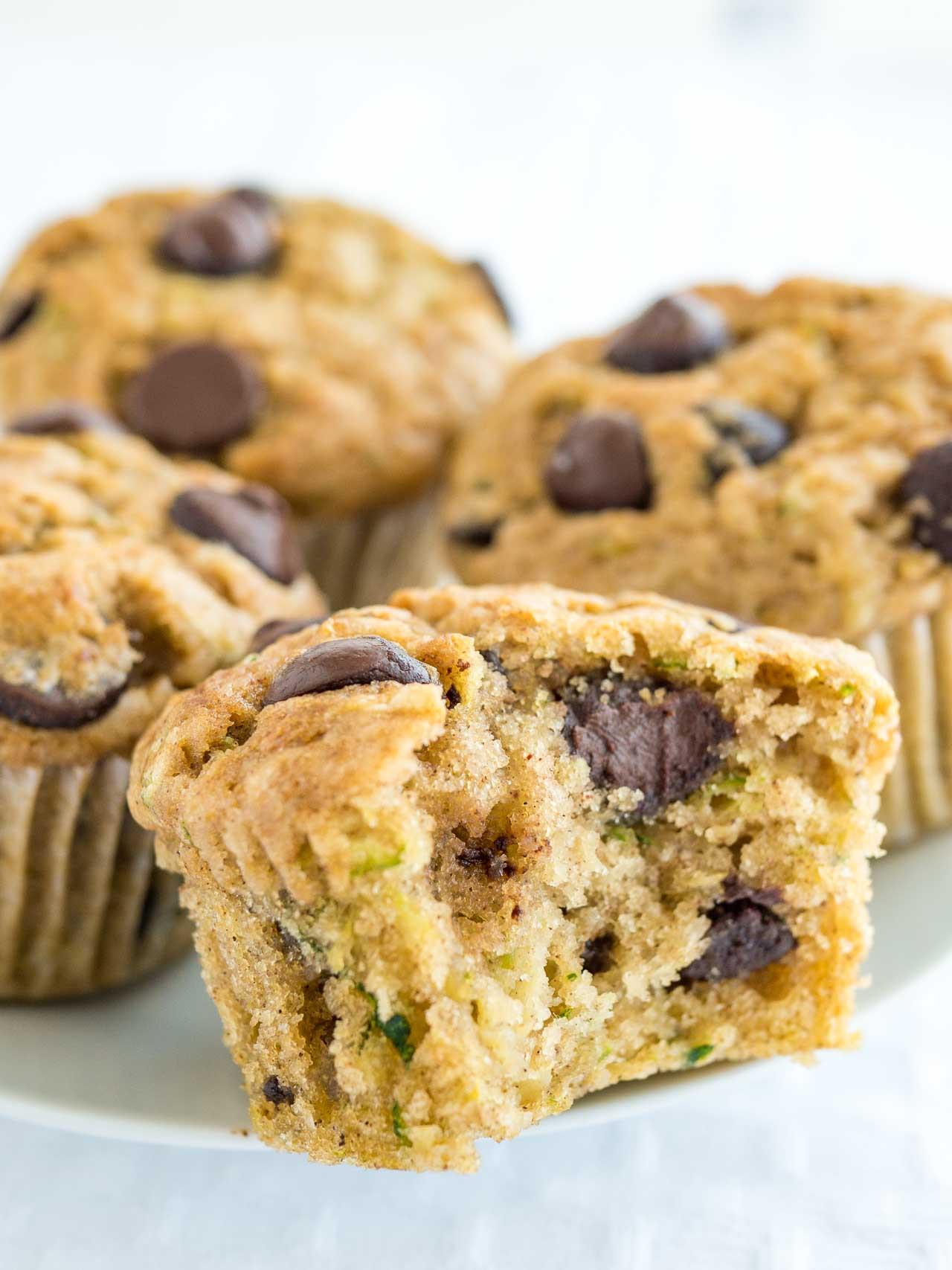 Healthy Zucchini Chocolate Chip Muffins  Zucchini Chocolate Chip Muffins Recipe Tips to make