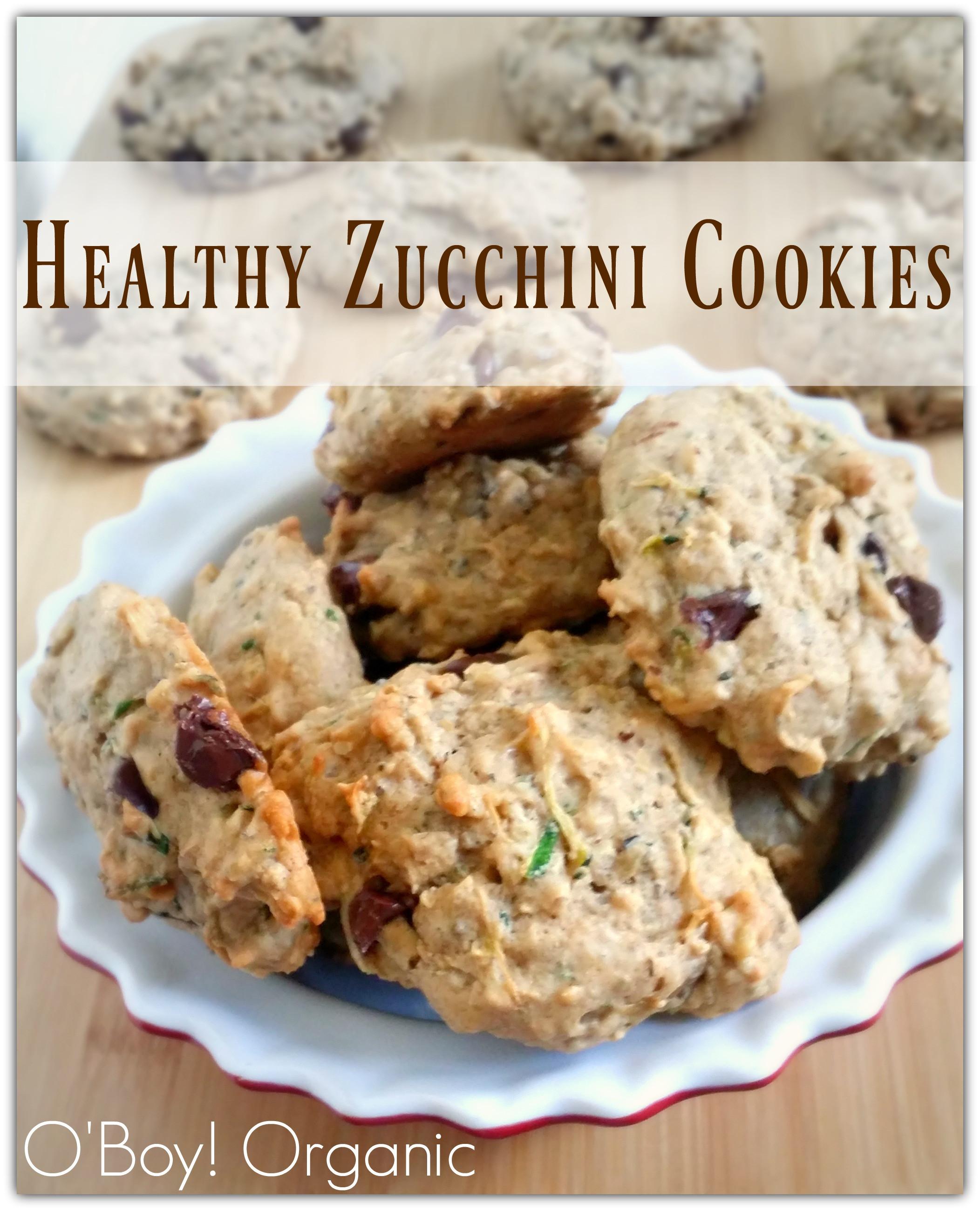 Healthy Zucchini Cookies  Healthy Zucchini Cookies