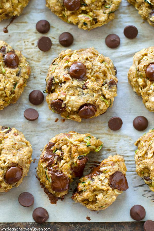 Healthy Zucchini Cookies  Healthy Zucchini Oat Breakfast Cookies