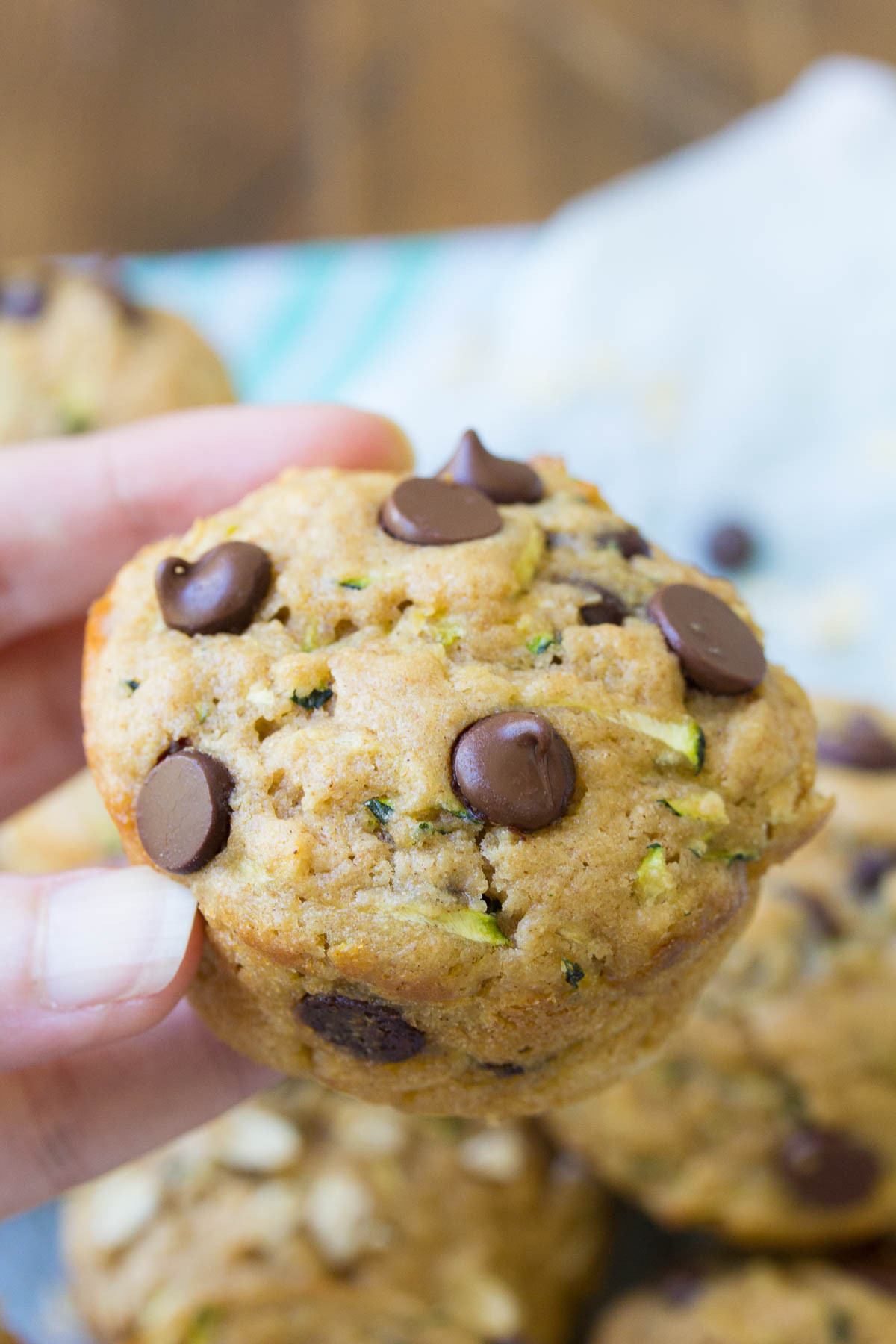 Healthy Zucchini Muffins  Healthy Zucchini Muffins Chocolate Chip or Oat