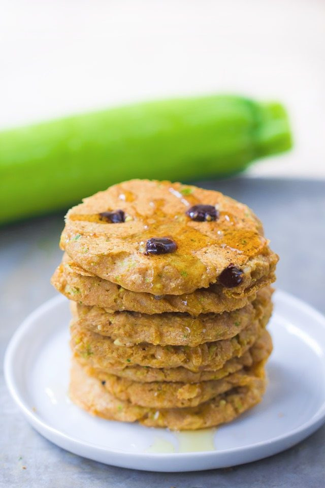 Healthy Zucchini Pancakes  Zucchini Pancakes can be sugar free vegan