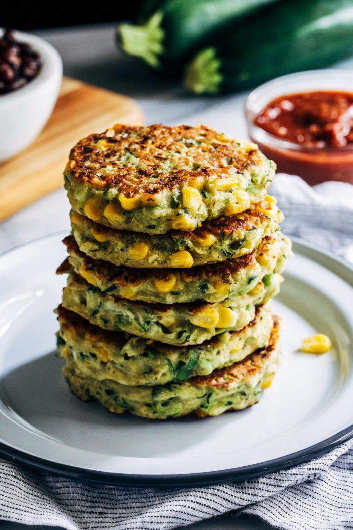 Healthy Zucchini Recipes  Healthy Zucchini Corn Fritters Making Thyme for Health