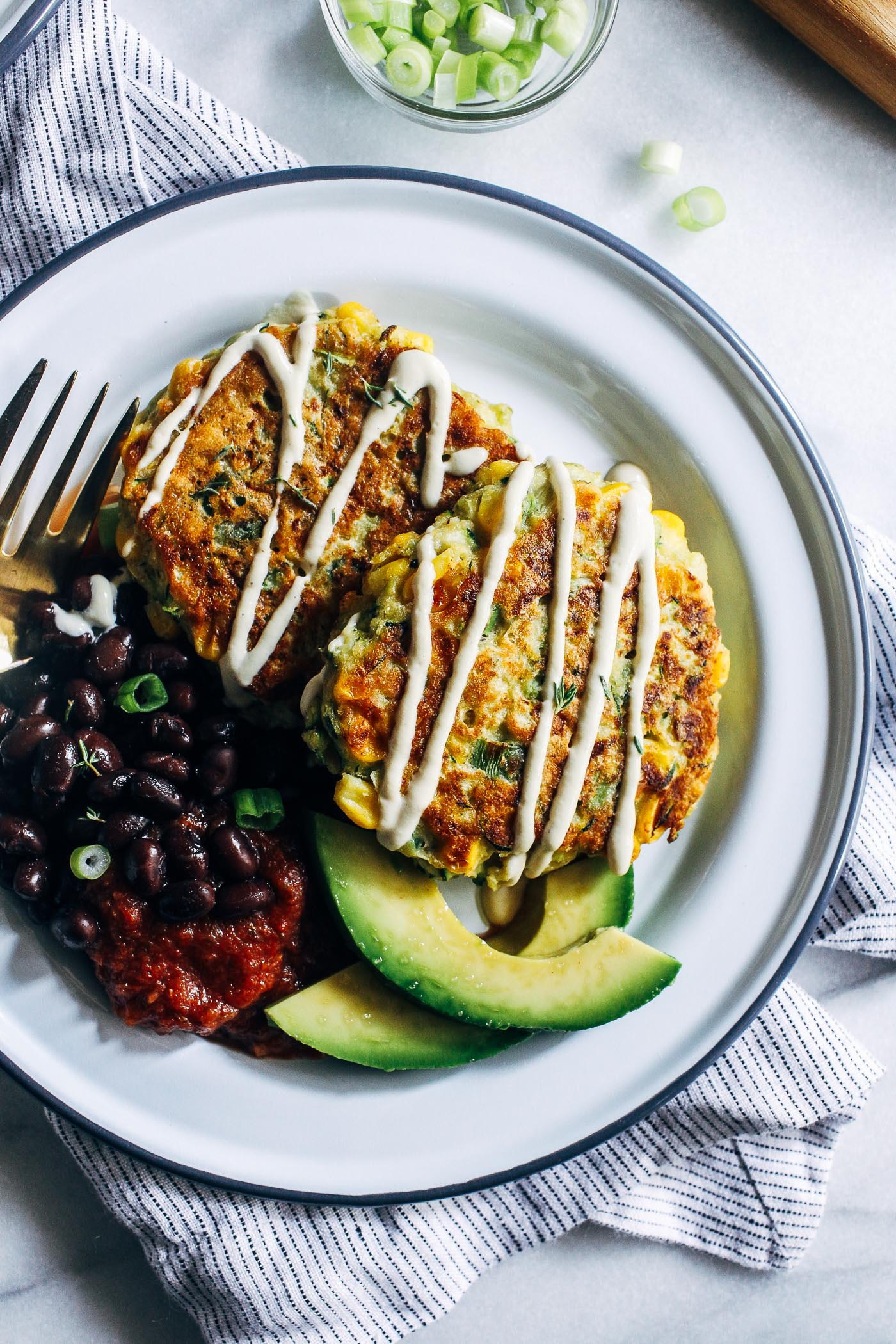 Healthy Zucchini Recipes  zucchini fritters