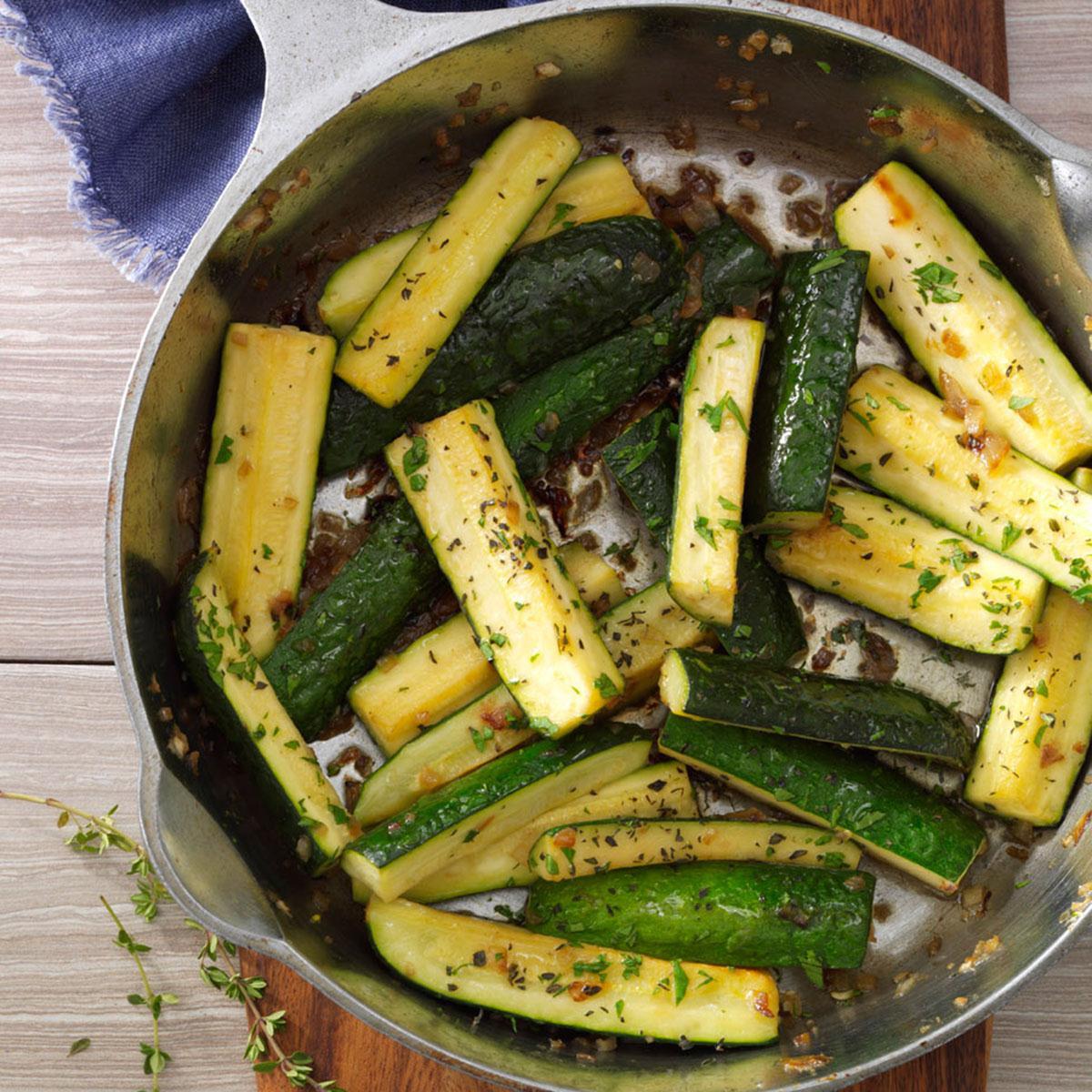Healthy Zucchini Recipes  Thymed Zucchini Saute Recipe