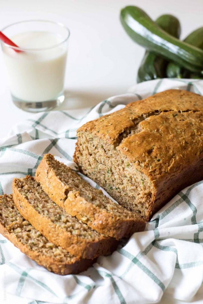 Healthy Zucchini Recipes  zucchini bread with applesauce no sugar