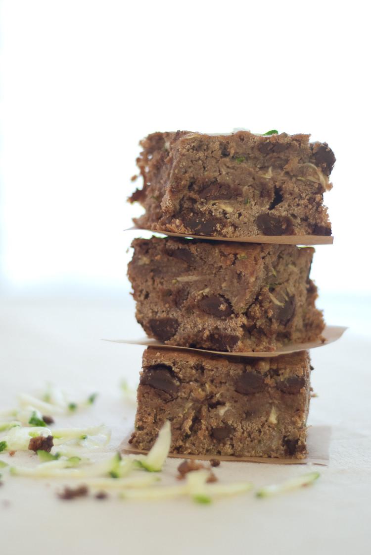 Healthy Zucchini Recipes  Dark Chocolate Zucchini Brownies Cookie and Kate