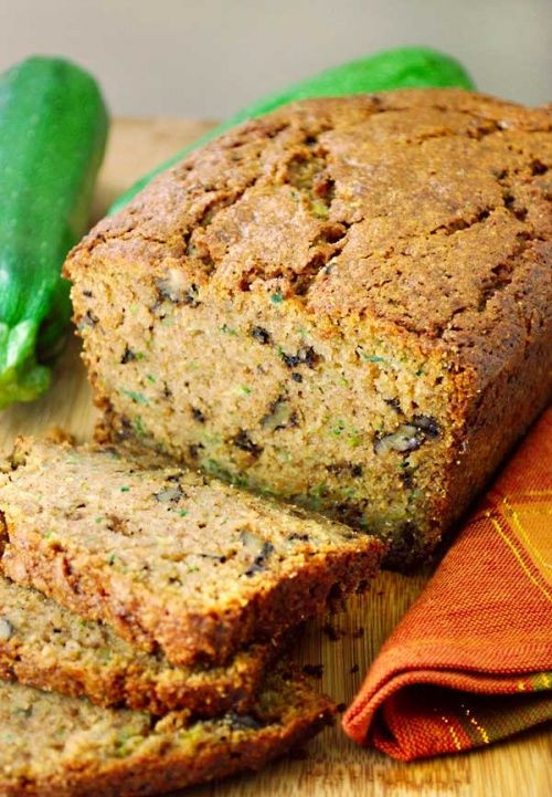Healthy Zuchinni Bread  17 Best images about low sodium snacks on Pinterest
