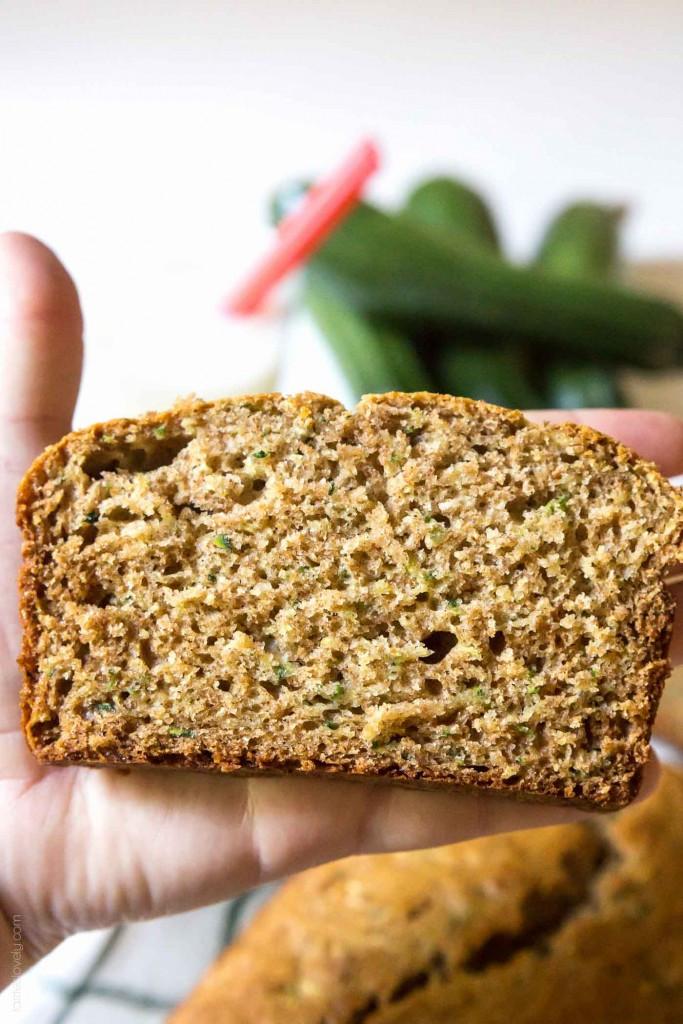Healthy Zuchinni Bread  zucchini bread with coconut oil