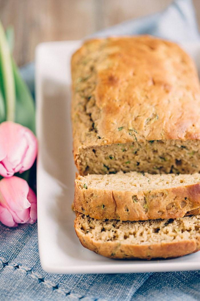 Healthy Zuchinni Bread  Healthy Zucchini Bread Eat Yourself Skinny