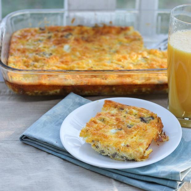Heart Healthy Breakfast Casserole  Healthy Breakfast Casserole with Eggs I Heart Planners