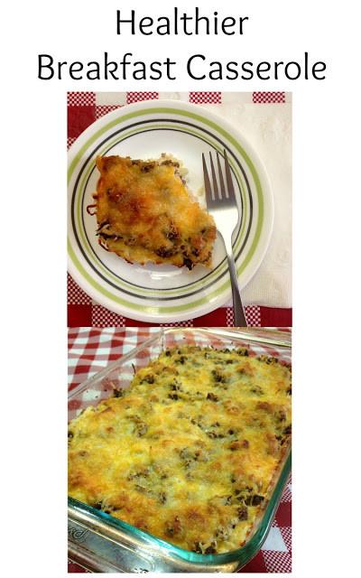 Heart Healthy Breakfast Casserole  Healthier Breakfast Casserole Home Crafts by Ali