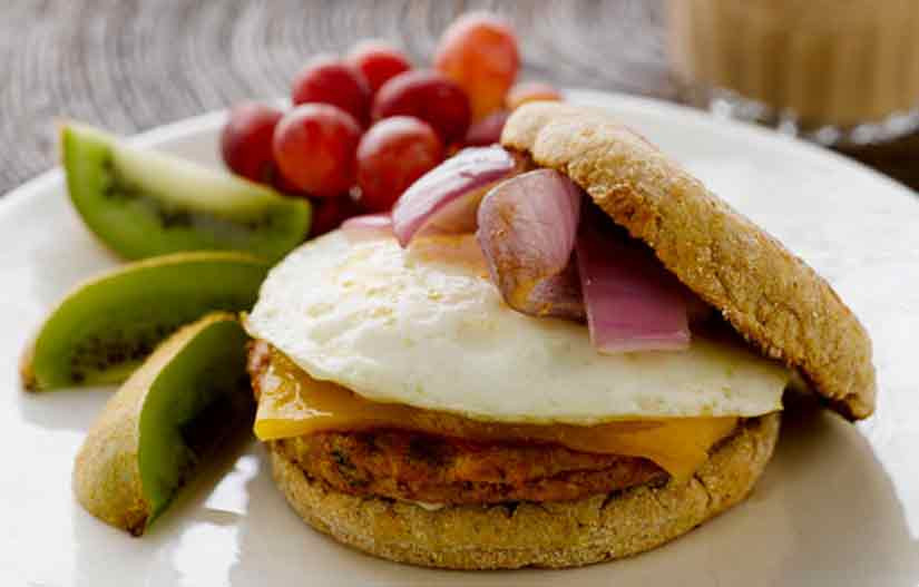 Heart Healthy Breakfast Foods  Young at Heart Healthy Breakfast Sandwich American Egg Board