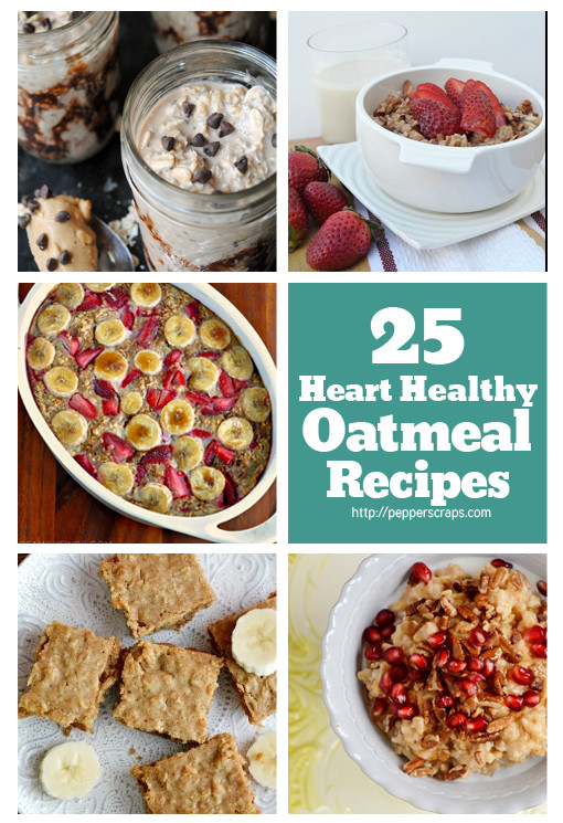 Heart Healthy Breakfast Recipes  healthy oatmeal recipes for breakfast