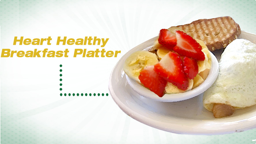 Heart Healthy Breakfast Recipes  Heart Healthy Breakfast Platter Recipe