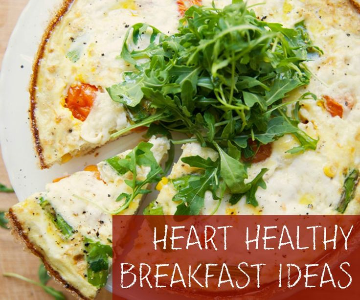 Heart Healthy Breakfast Recipes  hEART HEALTHY BREAKFAST IDEAS farmers fritatta