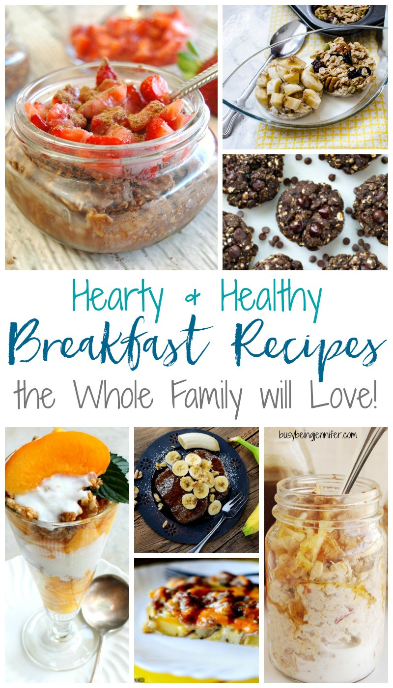 Heart Healthy Breakfast Recipes  Hearty and Healthy Breakfast Recipes the Whole Family will
