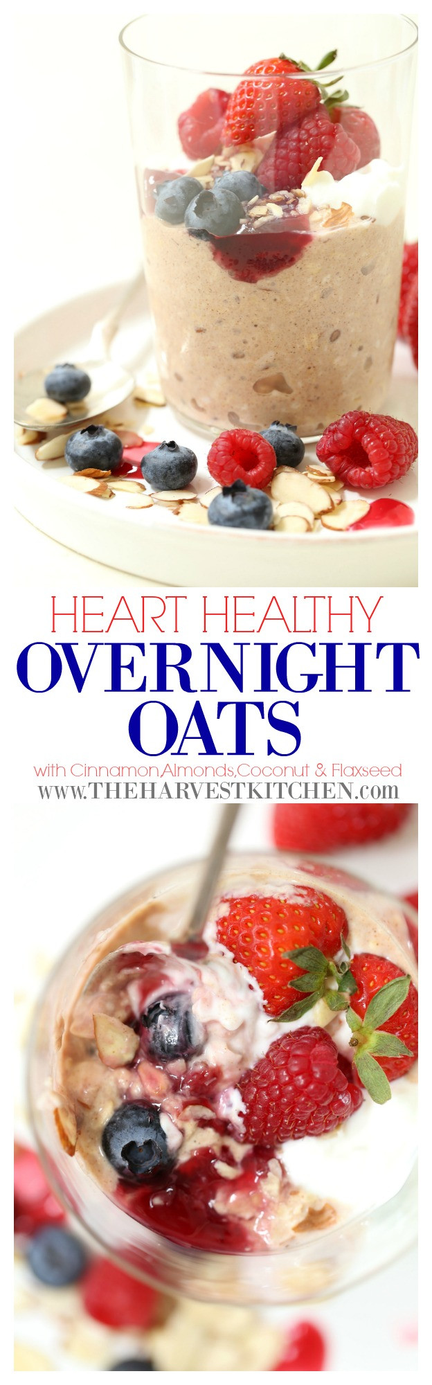 Heart Healthy Breakfast  Heart Healthy Overnight Oats The Harvest Kitchen