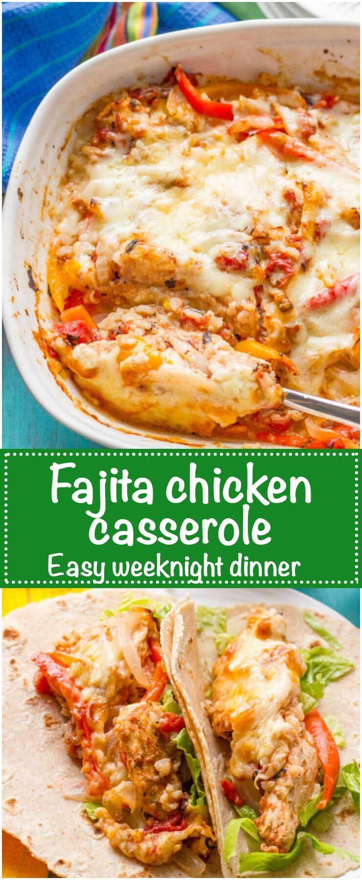 Heart Healthy Casseroles  Best 25 Healthy chicken fajitas ideas on Pinterest