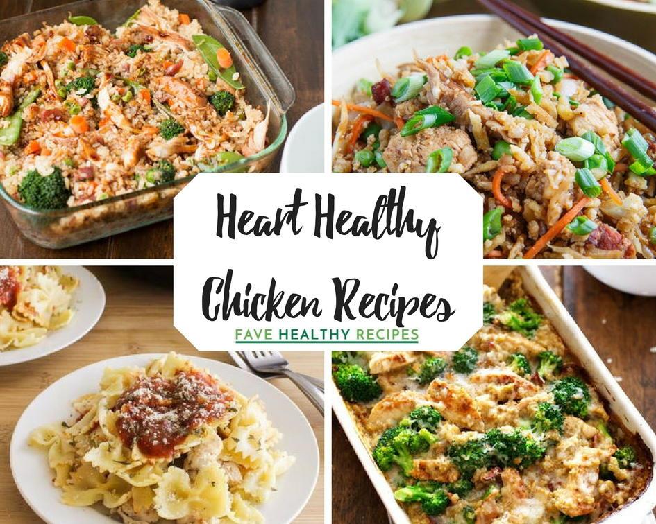 Heart Healthy Casseroles  21 Heart Healthy Chicken Recipes