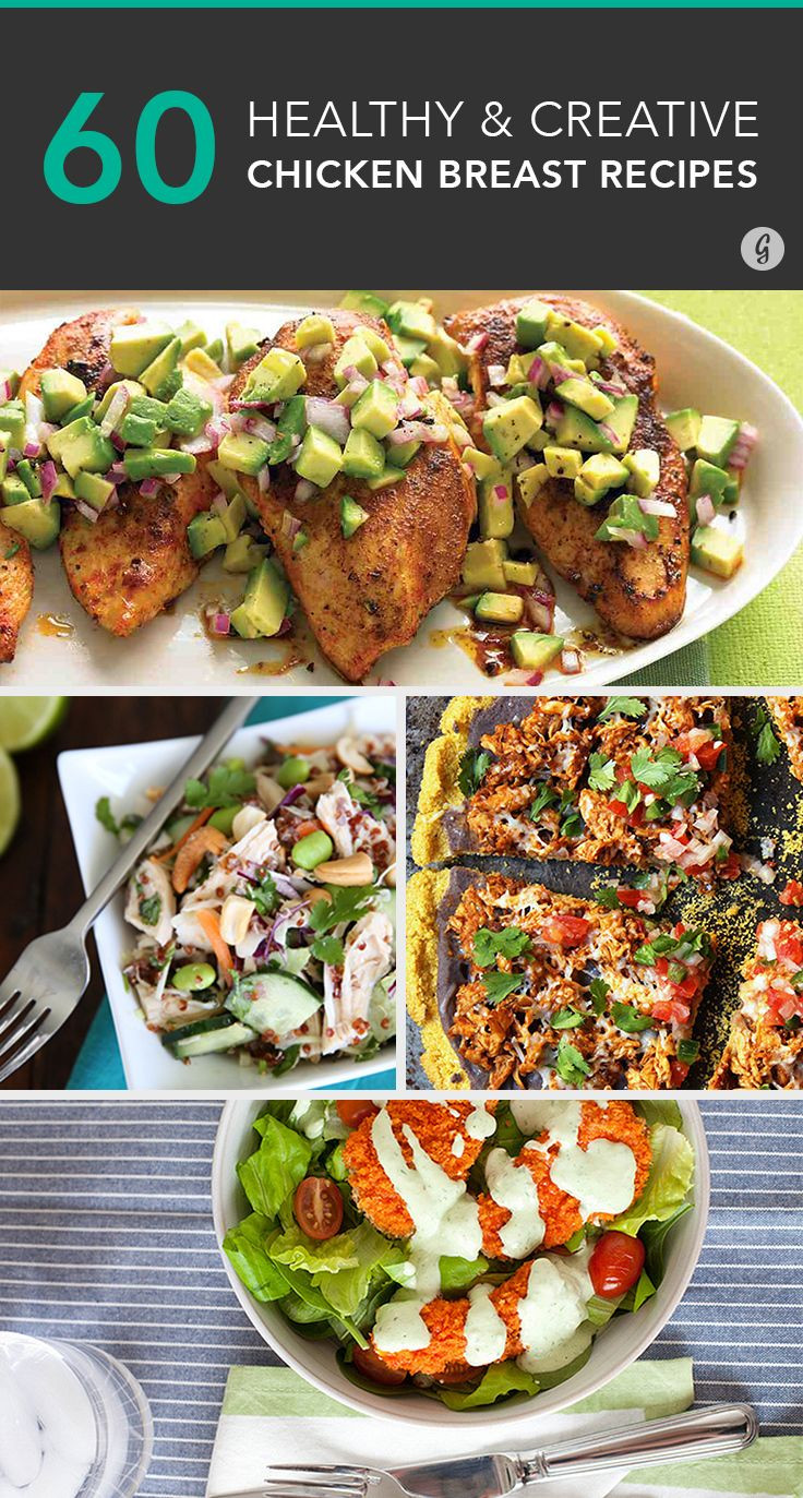 Heart Healthy Chicken Breast Recipes  60 Ways to Spice Up Boring Chicken Breasts