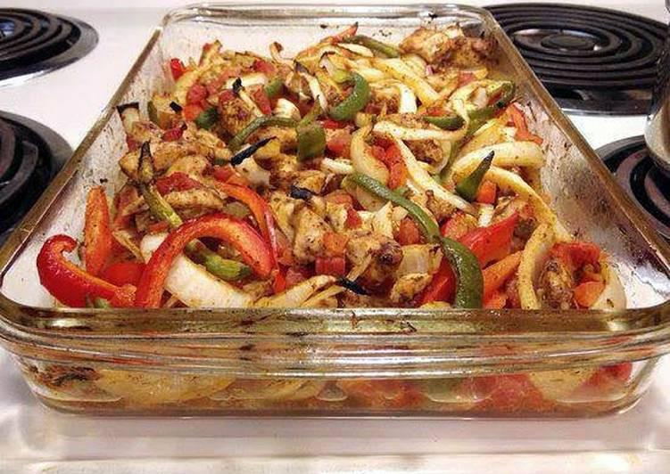 Heart Healthy Chicken Breast Recipes  Baked Chicken Fajitas Heart Healthy Recipe by amanda1021
