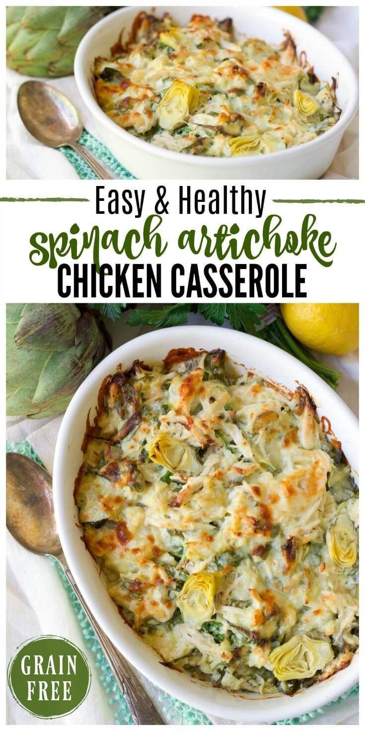 Heart Healthy Chicken Casserole  25 best Artichoke heart recipes ideas on Pinterest
