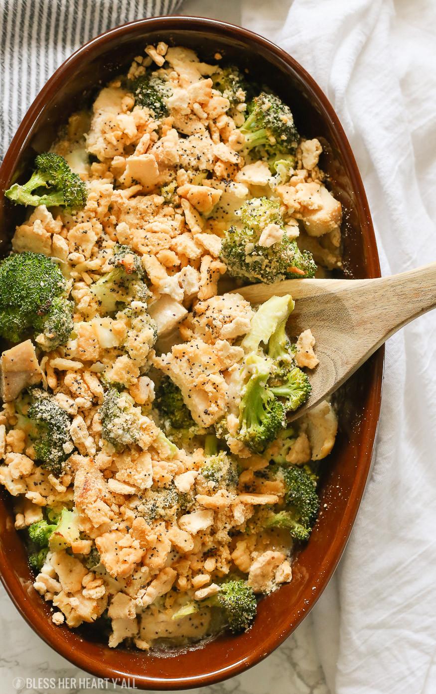 Heart Healthy Chicken Casserole  Skinny Gluten Free Chicken Poppy Seed Casserole Bless