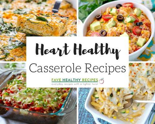 Heart Healthy Chicken Casserole  46 Heart Healthy Casserole Recipes