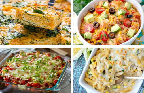 Heart Healthy Chicken Casseroles  Chicken Penne Casserole with Corn and Zucchini Recipe