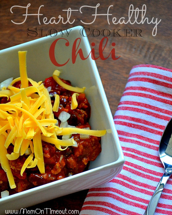 Heart Healthy Chili Recipes the top 20 Ideas About Heart Healthy Slow Cooker Chili Recipe Mom Timeout