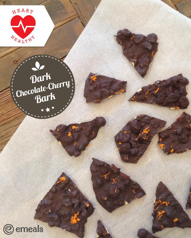 Heart Healthy Chocolate Desserts the Best Ideas for Heart Healthy Dessert Recipe Dark Chocolate Cherry Bark