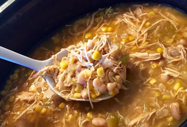 Heart Healthy Crock Pot Recipes  Healthy Crockpot White Chicken Chili Further Food