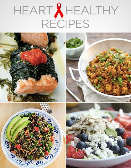 Heart Healthy Diets Recipes  Heart Healthy Recipes americanheartmonth