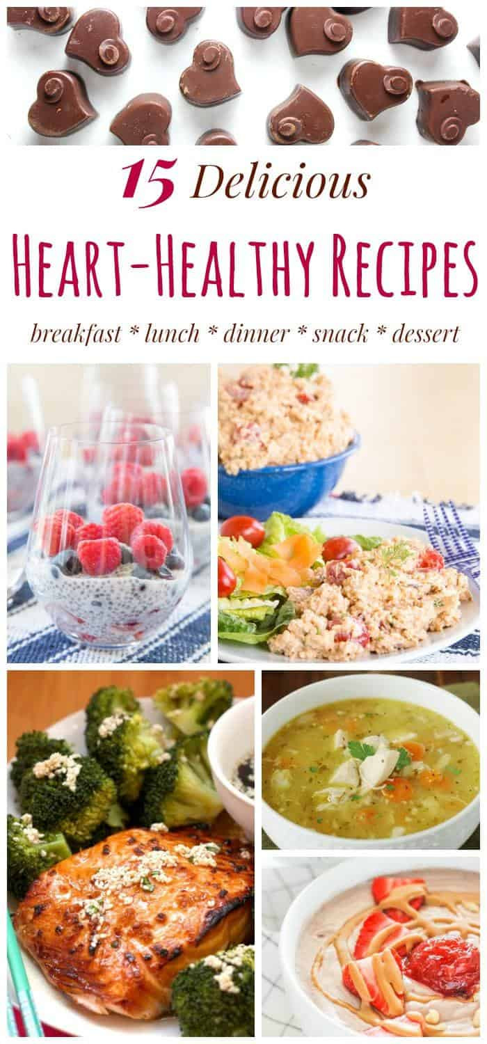 Heart Healthy Dinner Ideas  Advice FromTheHeart and 15 Heart Healthy Recipes