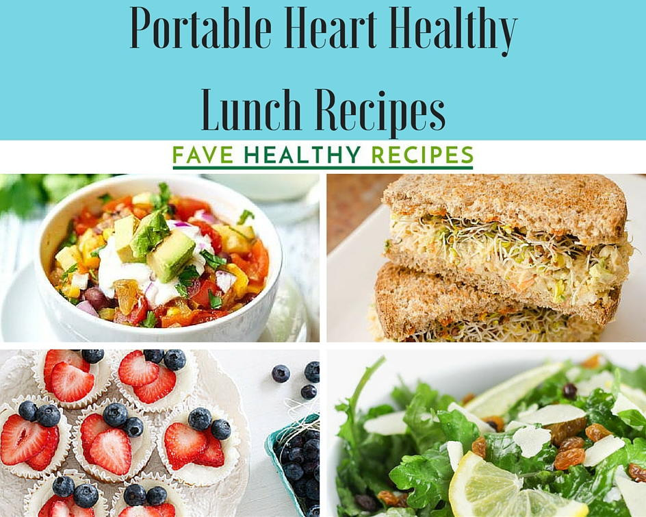 Heart Healthy Dinner Recipes  47 Portable Heart Healthy Lunch Recipes