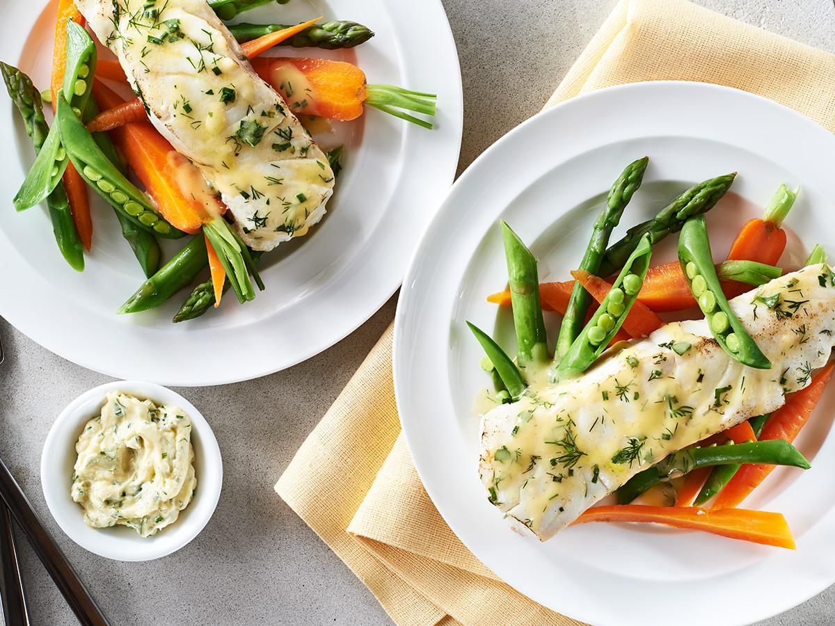 Heart Healthy Fish Recipes  Halibut with Lemon Shallots & Herbs Recipe
